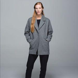 LULULEMON Grey Cozy Car Coat